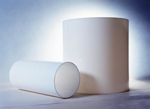 Acrylic Opal White Tube Dia.100mm x 2mm x 1M Long.