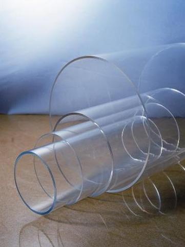 Acrylic Clear Tube Diameter 180mm x 2.5mm x 2M Long