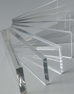Acrylic Clear Sheet 610 x 610 x 10mm Cast Sheet. Limited time only.