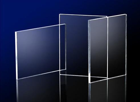 Acrylic Clear Sheet 1000 x 1000 x 10mm Crystal Clear CAST