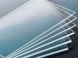 Acrylic Clear Perspex Strip 1100 x 100 x 20mm Thick Clear Cast Sheet