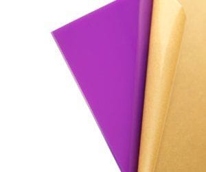 Acrylic A4 Size 210x297x3mm Purple CAST  Sheet Limited Stock.UV Stable Display