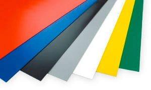 PALIGHT® FOAM Pack of 5 PVC A3 420 x 297 x 3mm Black PVC Flat Sheet 3D Printing