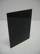 Pack of 20 A3 Size 420 x 297 x 4.5mm Acrylic Gloss Black Sheet CAST