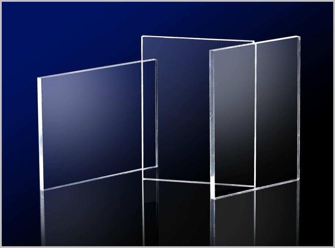 Acrylic Clear Sheet 300 x 600 x 4.5mm Crystal Clear CAST Sheet UV resist NEW