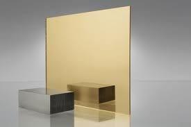 EuroMir Acrylic Gold Mirror 1525 x 2030 x 3mm Sheet
