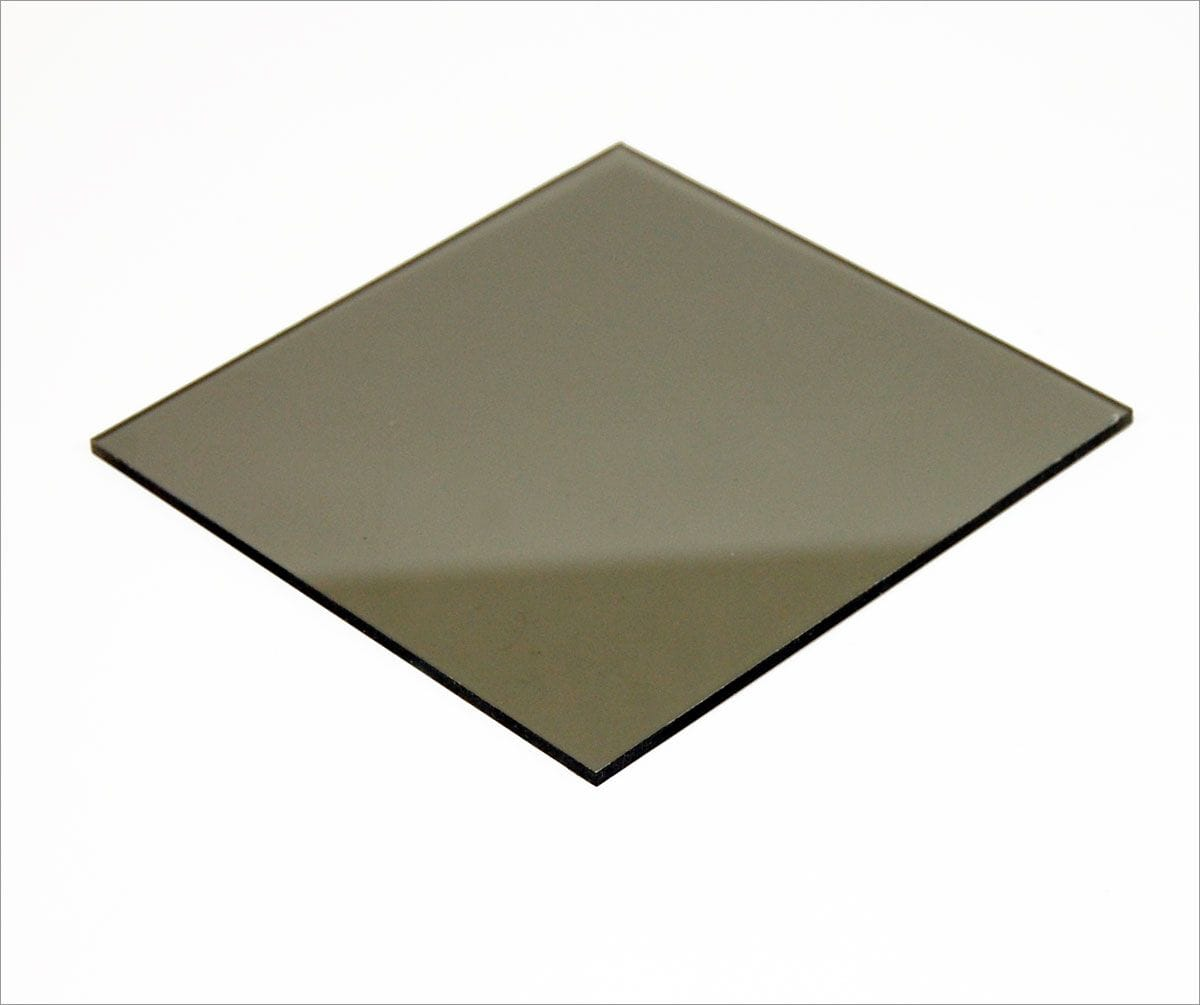 Lexan Polycarbonate Grey Tint Sheet 1220 x 2440 x 3mm thick.