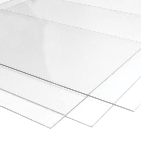 A3 Size Acrylic Clear Sheet 420x297x1.5mm clear Perspex