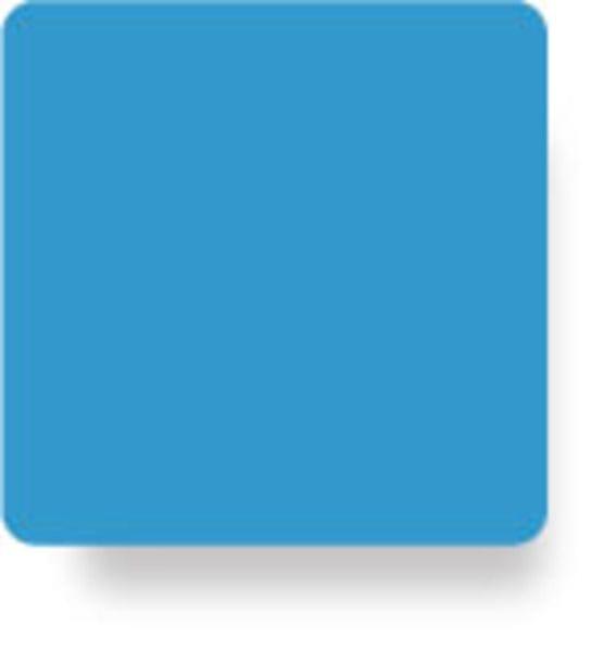 Acrylic A4 210x297x3mm Light Blue CAST Sheet