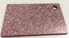 Acrylic Dark Pink Glitter Sheet 300 x 600 x 3mm