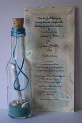 Message | Invitation In A Bottle 