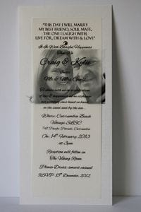 DL Invitation | Gorgeous Affordable Budget Friendly | Starting as low as $2.20 each | All Bottled Up | Gold Coast