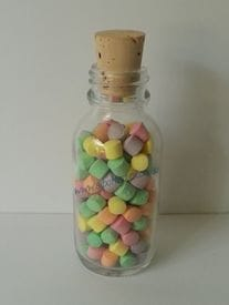 50ml Glass Lolly Bottle | Tingles