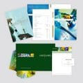 Medigard<br><i>Annual Reports, Letterhead, Business Card and Document Wallet.</i><br>
