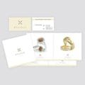 Mycenae Jewellery Collection<br><i>Catalogue and Business Cards.</i><br>