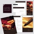 OMB Solicitors<b><i>Logo Design, Letterhead, Comp Slips, Business Cards, Advertisements and Reports.</i><br>