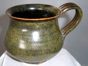 Mug in tea dust glaze