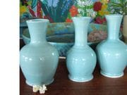 Tall and small vases 
