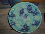 Blury frog platter..