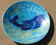 Large whale plate/bowl.