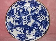 Turtles and Elephants Platter.  August 2009.