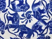 Detail of centre of Elephant/turtle Platter.