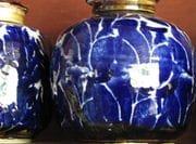 Cobalt Blue Jar.