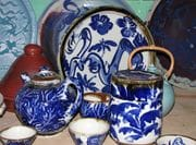 Teapots etc. In Studio 2009.
