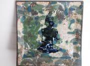 Divine Garden square plate.  September  2009.