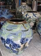 Blue Lotus Jar. Sept.2009