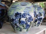 Blue Lotus Jars. 2009.