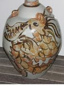 Dragon Jar with iron brushwork.