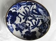 Cobalt design on large plate.