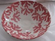A new design in the studio. Red Coral.