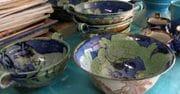Soup bowls.