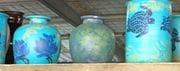 Turquoise Jars.