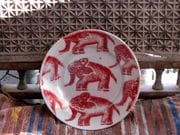 New elephant plate. 