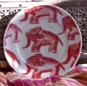 The Little Red Elephant. Plate.