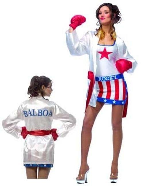 Female Boxer Halloween Costume