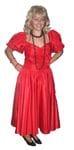 Eighties red dress
