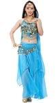 Belly Dancer Cutie Blue