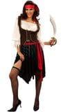 Pirate Woman    $45