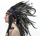 Indian Headdress Black  -   $79