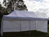 WHITE POPUP MARQUEE 3X6
