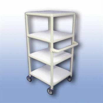 Laundry linen trolley (single)