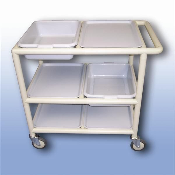 Multi-Purpose trolley (3 x shelves with trays)