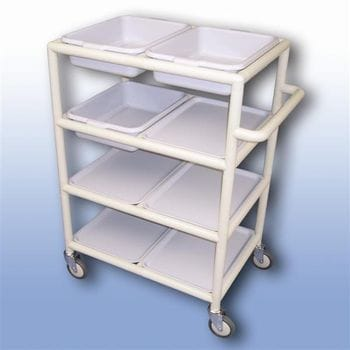 Multi-Purpose trolley (4 x shelves with trays)