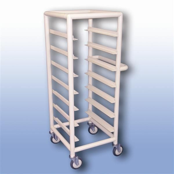 Single Bay 7 x  Tray service trolley