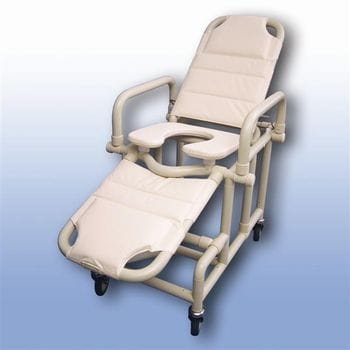 Mobile shower recliner