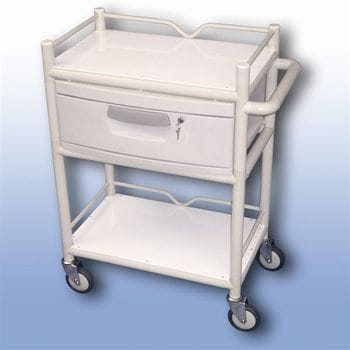 Lockable draw trolley